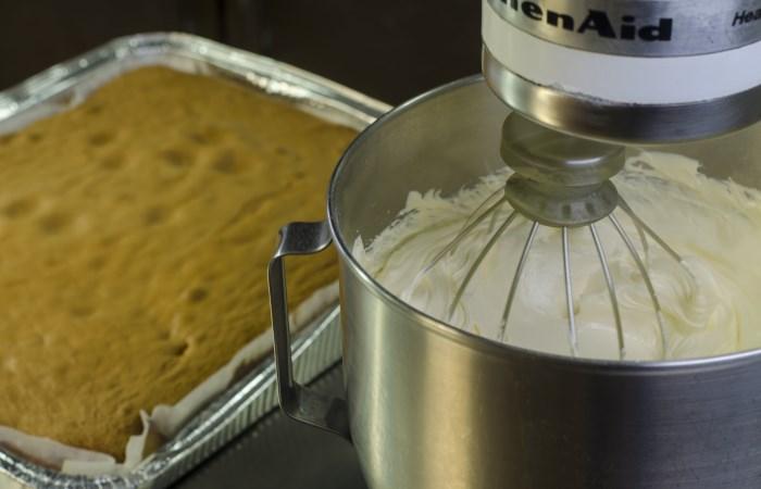 Pan di spagna - Menù